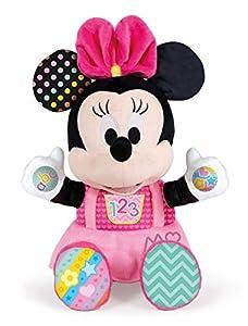 Clementoni - Disney Baby Minnie Gioca e Impara, Peluche parlante,, 17304