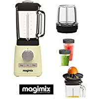Magimix Blender Cream with more optional accessories (CITRUS PRESS-2 BLENDCUPS-MILL ATTACHMENT