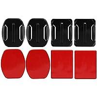 Taohou Adhesivos Adhesivos Adhesivos Adhesivos fijos para GoPro Hero Flat Curved Base Sticker