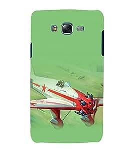 printtech Airplane Superfast Back Case Cover for Samsung Galaxy J1::Samsung Galaxy J1 J100F