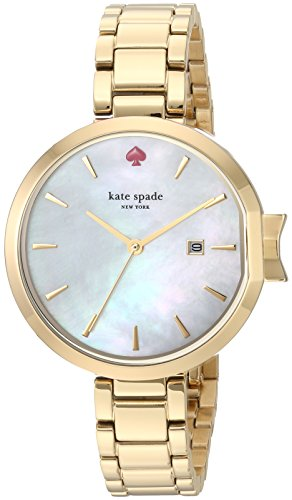 Kate Spade New York Womens Analog Japanese-Quartz Watch with Stainless-Steel Strap KSW1266