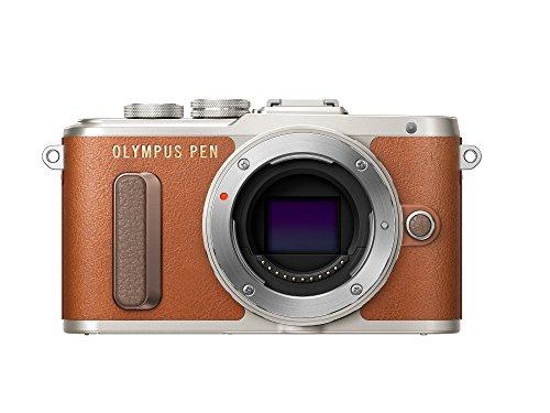 Olympus PEN E-PL8 Kompakte Systemkamera (16 Megapixel, elektrischer Zoom, Full HD, 7,6 cm (3 Zoll) Display, Wifi) braun