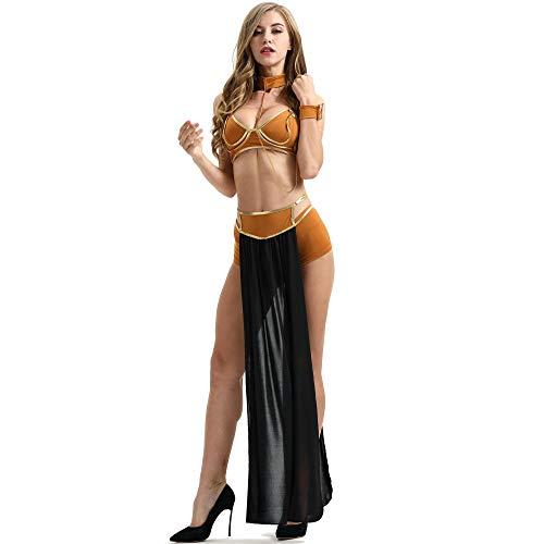 Dessous-Sets Für Damen Nachtwäsche & Bademäntel Für Damen Baby Dolls & Negligees Für Damen Damen Sexy Langen Rock Halloween Kostüm Sexy Dessous Nachthemd Wie In Abbildung XXL Gezeigt