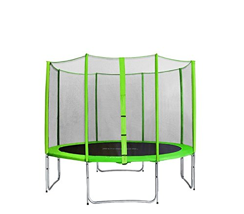 GARTENTRAMPOLIN AGA SPORT PRO, TRAMPOLIN, KINDERTRAMPOLIN, (LIGHT GREEN, 11ft – 335cm)