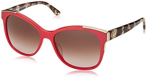 Juicy Couture Damen JU 593/S HA 1N5 Sonnenbrille, Rot (Coral/Bw Black Brown), 56