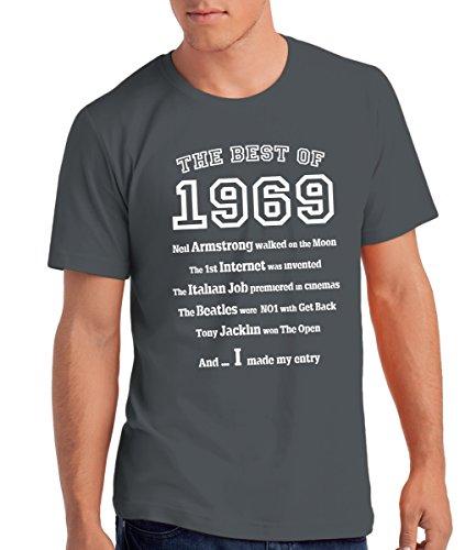 80d27aa81c28d Da Londra Maglietta da Uomo The Best of 1969