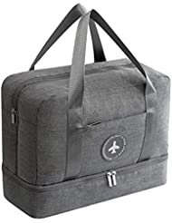 024f891b2e Swim Bag Dry Wet Area & Shoe Scomparto Separato impermeabile Duffle Bag  Borse fitness per palestra