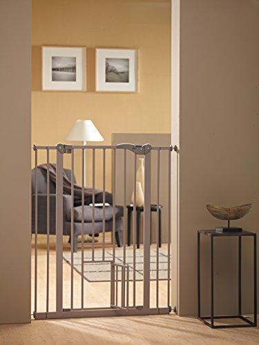 Savic 107 cm Dog Barrier with Cat Door 3
