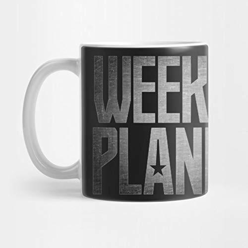 Der wöchentliche Planet - Gerechtigkeits-Liga-T-Shirt 324 ml-Kaffeetasse
