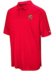 "Maryland Terrapins NCAA ""Setter"" Men's Performance Polo shirt Chemise"