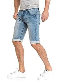 BLZ jeans - Bermuda short en jean bleu délavé