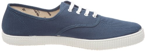 Victoria Inglesa Lona, Sneaker Donna Blu (Bleu (Petroleo))