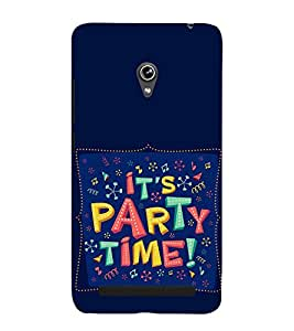 Party Time 3D Hard Polycarbonate Designer Back Case Cover for Asus Zenfone 5 A501CG :: Asus Zenfone 5 Intel Atom Z2520 :: Asus Zenfone 5 Intel Atom Z2560