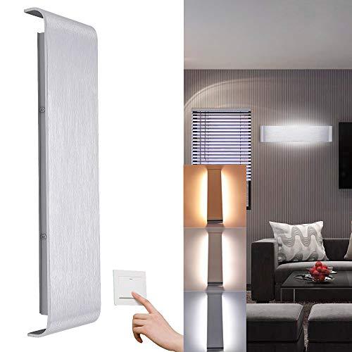 WIS LED Wandleuchte 20W Innen Wandbeleuchtung Beleuchtung Wandlampe Flur Treppen Hotels Moderne...