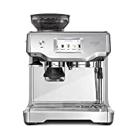 Sage SES880BSS the Barista Touch Semi Automatic Espresso Machine, 1700 W