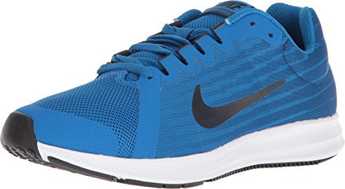 Nike Jungen Downshifter 8 (gs) Laufschuhe, Blau (Blue Nebula/Dark Obsidian/Navy/White 401), 36 EU -