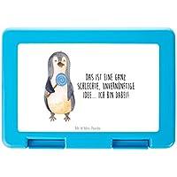 Mr. & Mrs. Panda Essendose, Schüler, Brotdose Pinguin Lolli mit Spruch - Farbe Weiß preisvergleich bei kinderzimmerdekopreise.eu