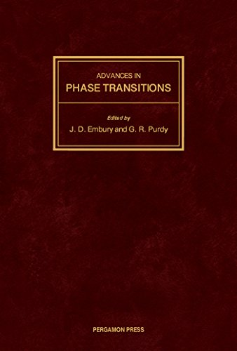 Advances in Phase Transitions: Proceedings of the International Symposium Held at McMaster University Ontario, Canada, 22-23 October 1987 (English Edition) -