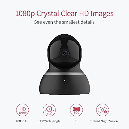 YI Dome IP Kamera 1080p HD-Überwachungskamera IP Security Home Camera - 2