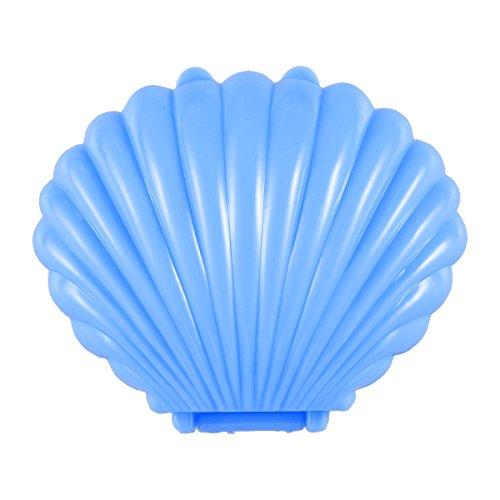 Stobok 10 pz scatole per bomboniere a forma di guscio decorazioni per feste di matrimonio compleanno (blu)