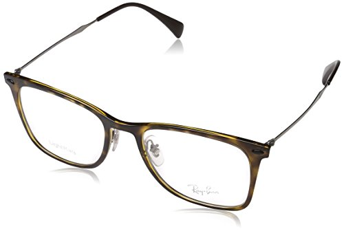 Ray-Ban Unisex-Erwachsene Brillengestell 0rx 7086 2012 51, Braun (Havana)