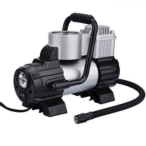 Pompe de voiture électrique portable KZKR Pompe gonflable...