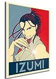 """Poster Full Metal Alchemist """"Propaganda"""" Izumi - Formato A3 (42x30 cm)"""