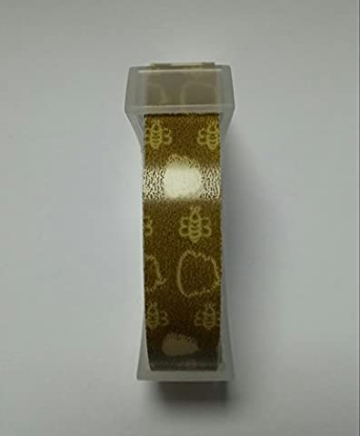 Dymo-Kompatibles Prägeband–1Rolle–Honig & Bienen-Muster (Muster Labels)