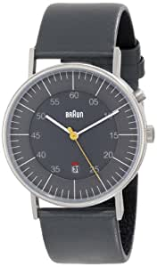 Braun Herren-Armbanduhr XL BN0013GYGYG Analog Leder