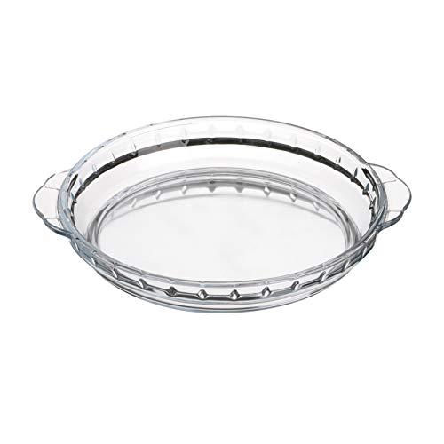 Plat à tarte en verre - L 23 x l 20 x H 3 cm