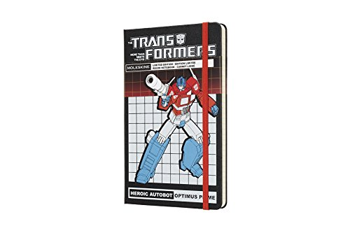 Le Notebook Transformers Lg Ruled Optimus Prime Lg