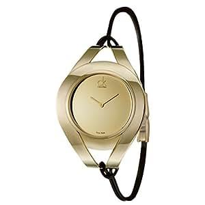 Calvin Klein - K1B23609 - Montre Femme - Quartz - Analogique - Bracelet Acier inoxydable doré