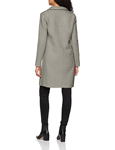ONLY Damen Mantel onlVIKKI Wool Coat CC OTW, Grau Light Grey Melange, 42 (Herstellergröße: XL) - 2