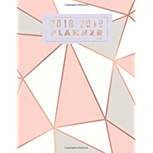 """2018-2019 Planner: Rose Gold Weekly & Monthly Schedule Diary 