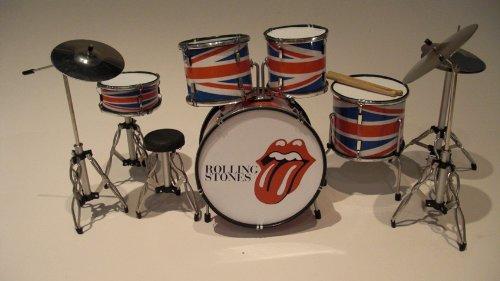 RGM334 Charlie Watts Rolling Stones Miniaturschlagzeug