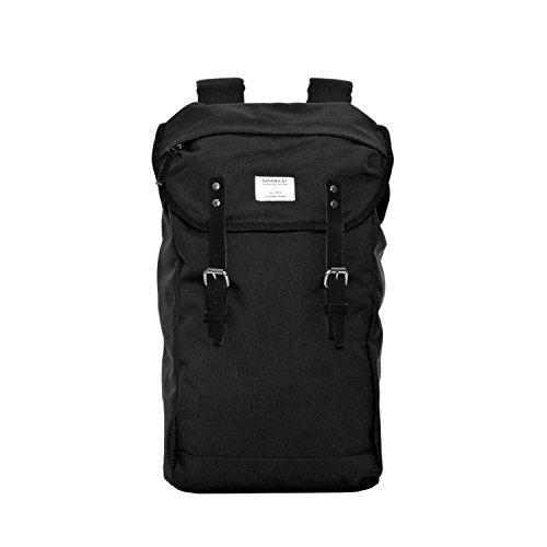 Sandqvist-Hans-Black-Rucksack-Backpack-Tasche-Schwarz-Laptop