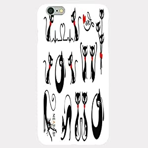 iSweven Luxurious Printed high Quality Catty art. Design Back case cover for Apple iphone 5/5s iph1424