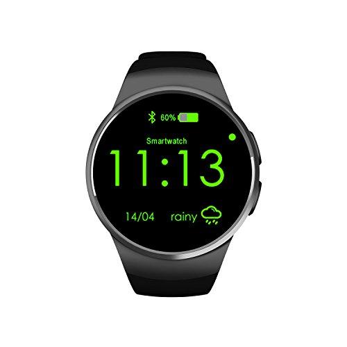 Schwarz Smart Fitness Watch , Wecker Sport Armbanduhr Für Männer , Stoppuhr / Anzahl Der Aufgezeichneten Schritte Digitaluhren