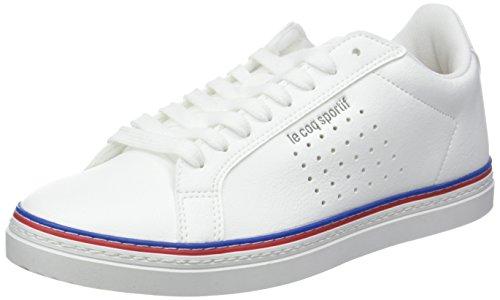 Le Coq Sportif COURTACE Sport Optical White, Baskets Femmes, Blanc, 41 EU