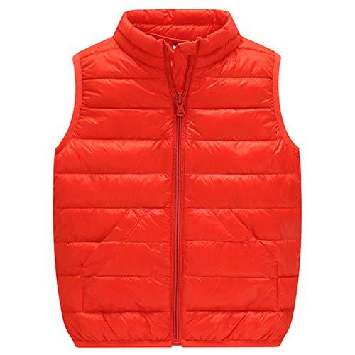 Inlefen Heißer Baby mädchen Jungen Kinder Winter Weste Mantel Hohe Hals Tasche Oberbekleidung