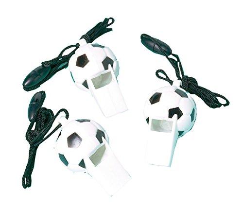 Amscan calcio 12 calcio whistles bomboniere
