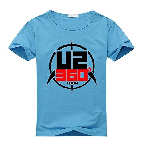 Custom U2 Band 360 Tour Men's and Women's T-Shirt
