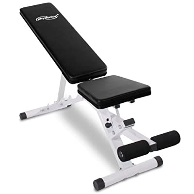 Physionics Weight Bench Adjustable Folding Fitness Multi Angle Gym Training from Physionics®