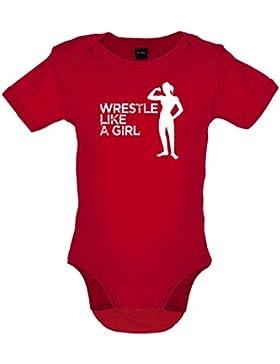 Wrestle Like A Girl - Baby-Body - 7 Farben - 0-18 Monate