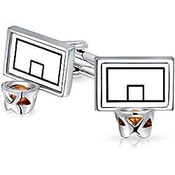 Tablero y aro de baloncesto gemelos