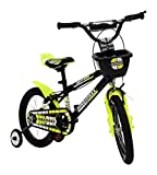 MAD MAXX Stainless-Steel Kids Road Cycle, 16 Inches (Multi-Colour, BMX16TGREEN)
