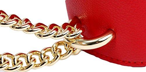 Regalo Di Natale Del Sacchetto Di Spalla Del Sacchetto Del Sacchetto Del Pacchetto Del Sacchetto Del Sacchetto Di Mini Sacchetto Delle Signore Red