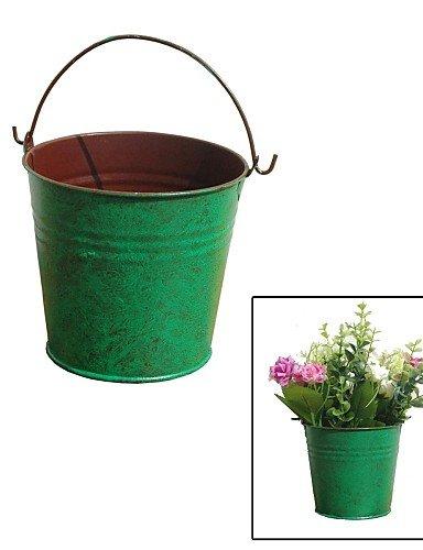 fiori artificiali, Creative ristabilisce i sensi antichi, Simple Green Tin (Tin Bucket)