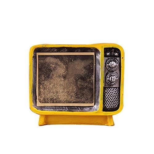 JunBo Britischer Stil TV sparen Topf Harz Handwerk kreative Ornamente (Britischen Tv)