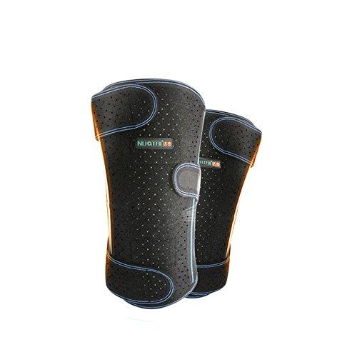 WANGXN Atmungsaktive Sommer Knieschützer Neue Atmungsaktive Unterstützung Knieschützer Einfach Zu Tragen Hive Mesh Design,Blue